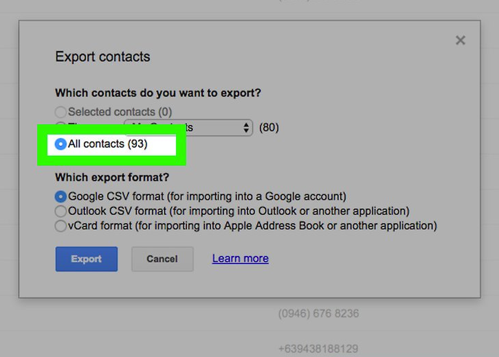 How Do I Export Gmail Contacts? - LetterHub