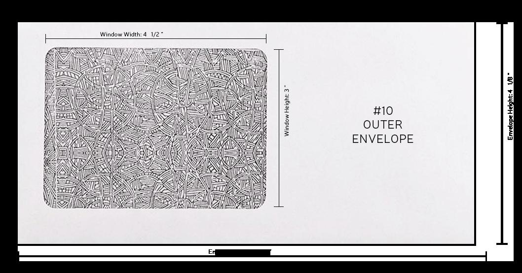 sample mail return envelope letterhub