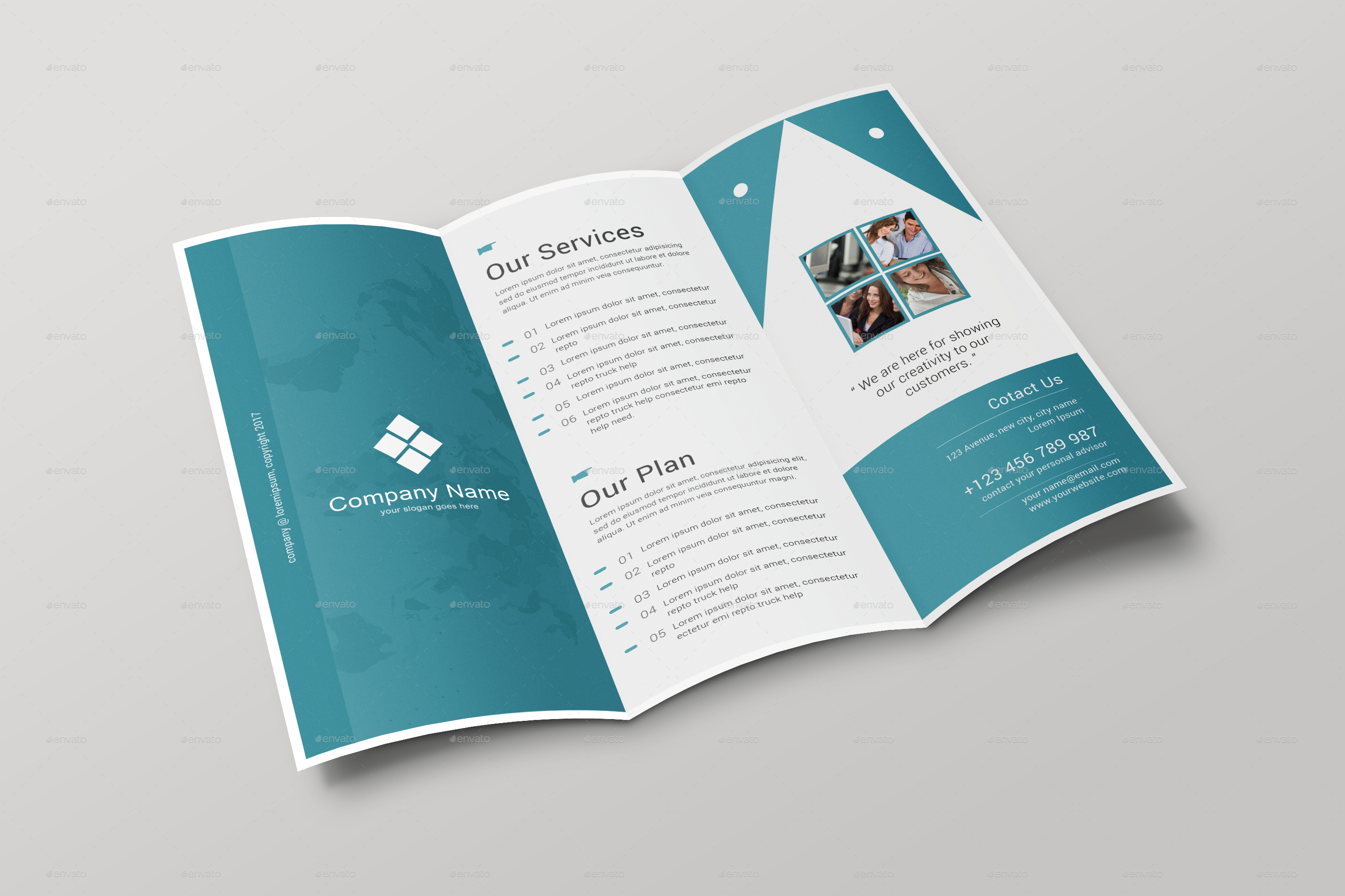 Brochure Printing And Mailing Services Letterhub