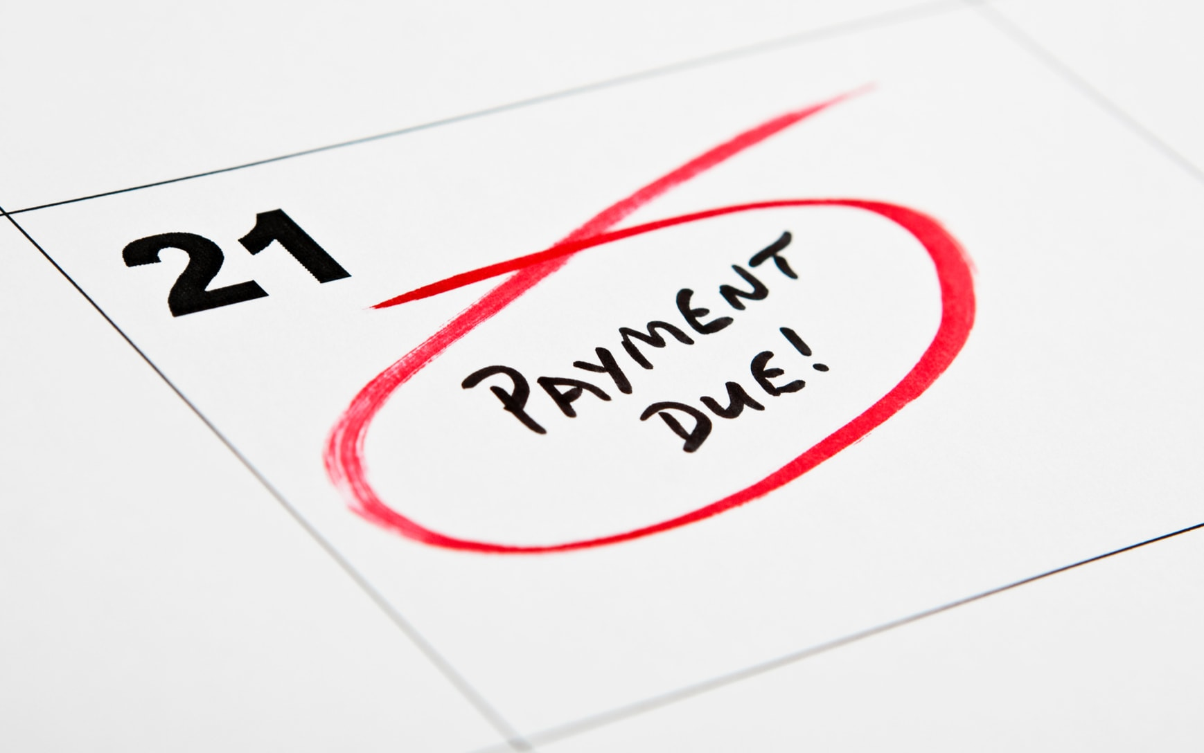 late payments letter