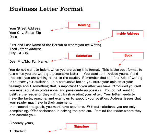 What Is Business Letter Writing from letterhub.com